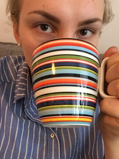 kaffedrickande