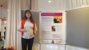 Poster presentation by researcher.